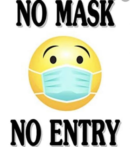 No Mask - No Entry